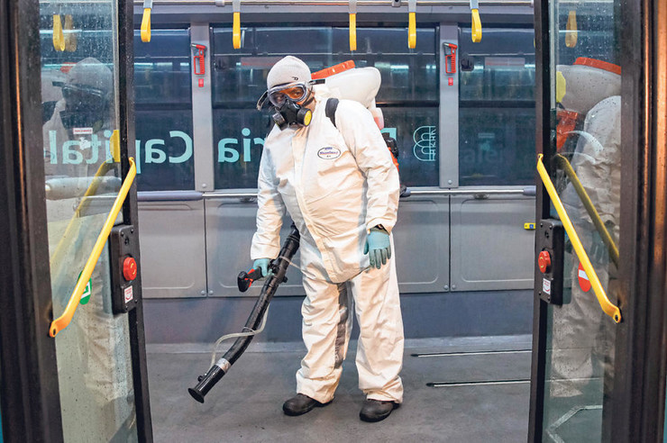 Novi Sad dezinfekcija