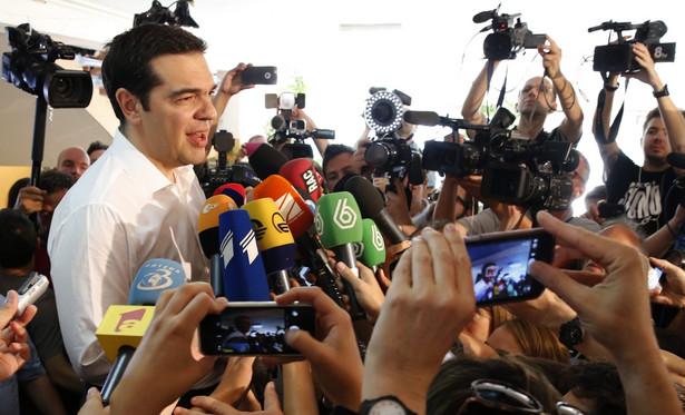 Alexis Tsipras, EPA/ARMANDO BABANI Dostawca: PAP/EPA.