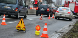 Koszmarne wypadki na małopolskich drogach