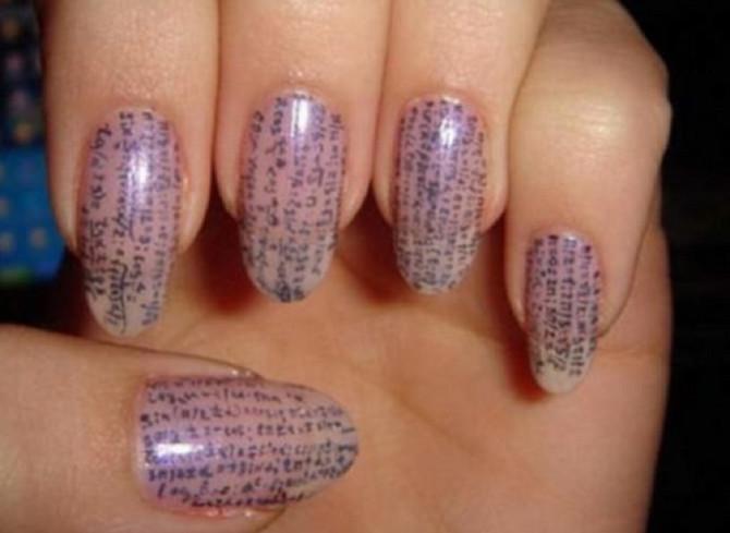 Dugi nokti za prepisivanje