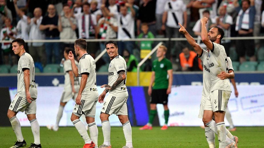 Legia odniosła już trzecią wygraną w pucharach, ale mecz z Florą nie był dla niej spacerkiem
