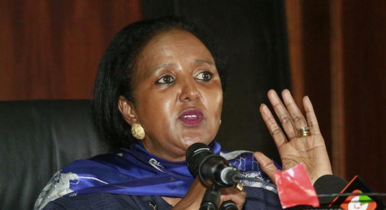 CS Amina Mohammed(The Standard)
