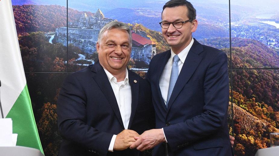 Konferencja premierów po szczycie UE