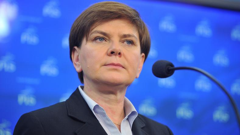 Beata Szydło, fot. Newspix