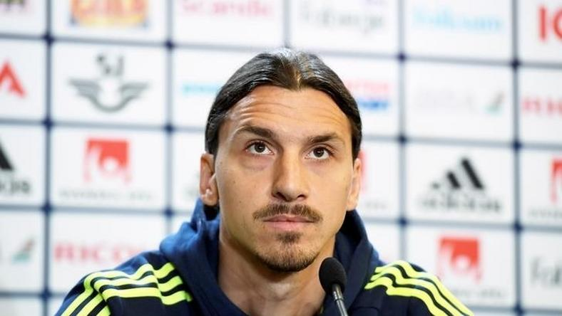 Sweden's forward and team captain Zlatan Ibrahimovic attends a press conference in Bastad, Sweden, on June 1, 2016, where the team stays for a training camp as part of preparations for the upcoming Euro 2016 European football championships.