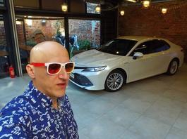 Toyota Camry - Robert testuje