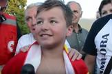 Dečak preplivao Ohridsko jezero