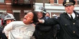 Tak bije policja w Nowym Jorku