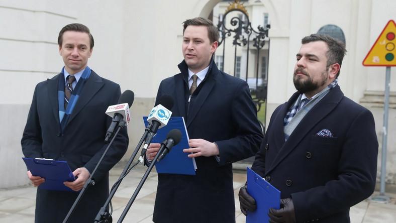 Krzysztof Bosak, Michał Urbaniak, Witold Stoch
