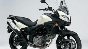 Motocykle Suzuki jadą na naprawę