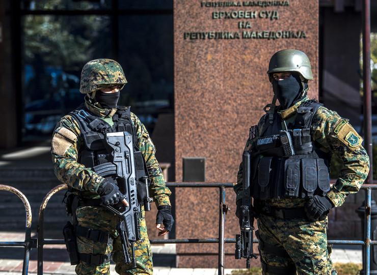 Makedonska policija EPA GEORGI LICOVSKI
