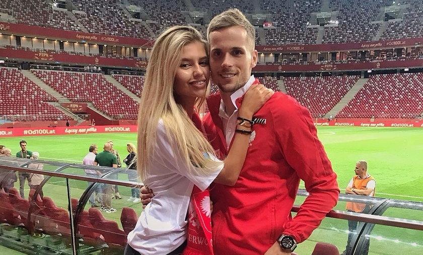 Piękna Ukrainka, gdy jej ukochany gra dla biało-czerwonych, staje się fanką naszej reprezentacji