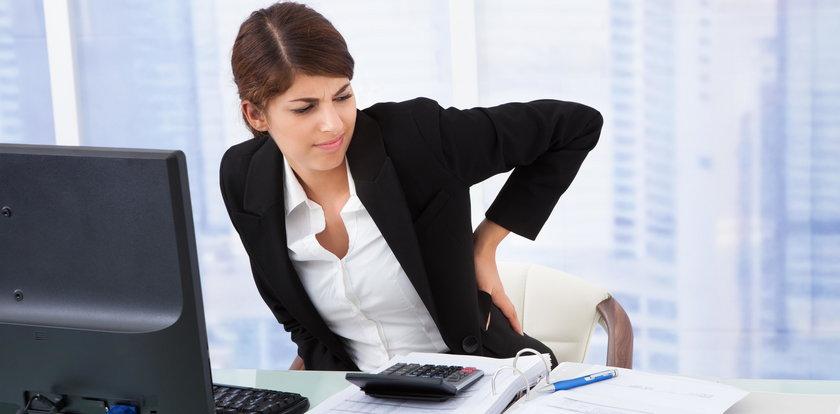 Pracujesz w pozycji siedzącej? Wypróbuj te ćwiczenia