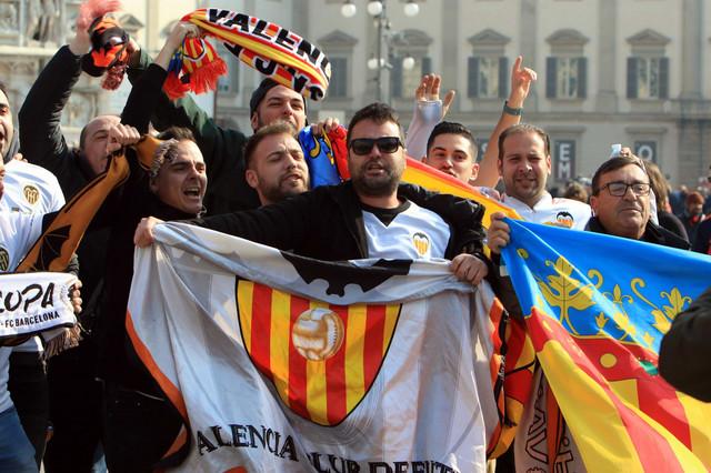 Navijači Valensije u Milanu