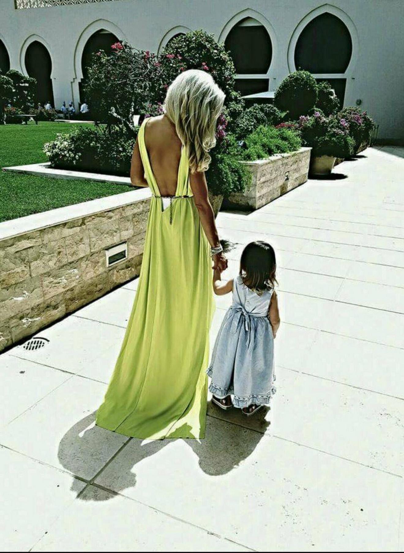Sa najmlađom ćerkom