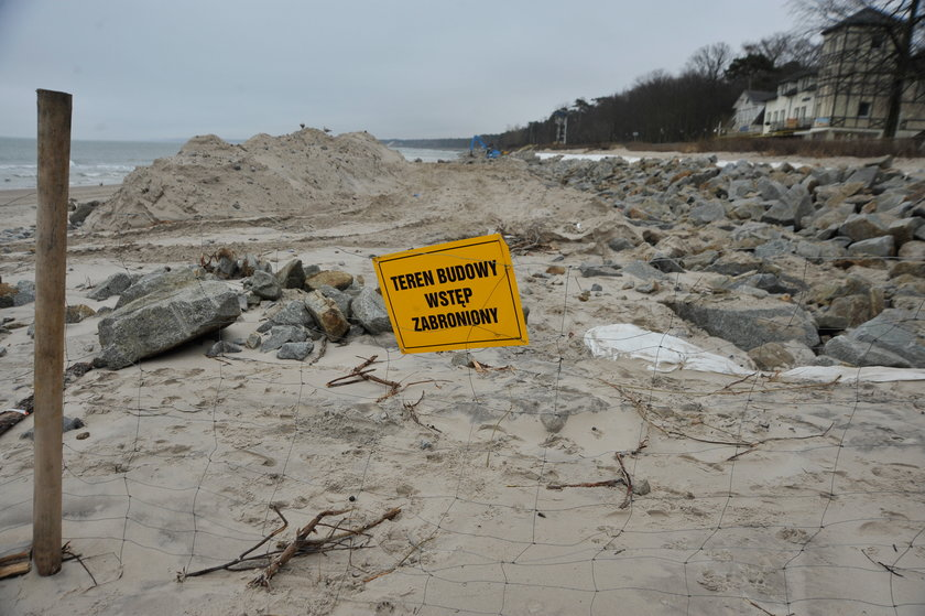 Znika plaża