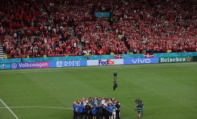 Duńczycy zrobili po meczu coś, co zdziwiło komentatorów.