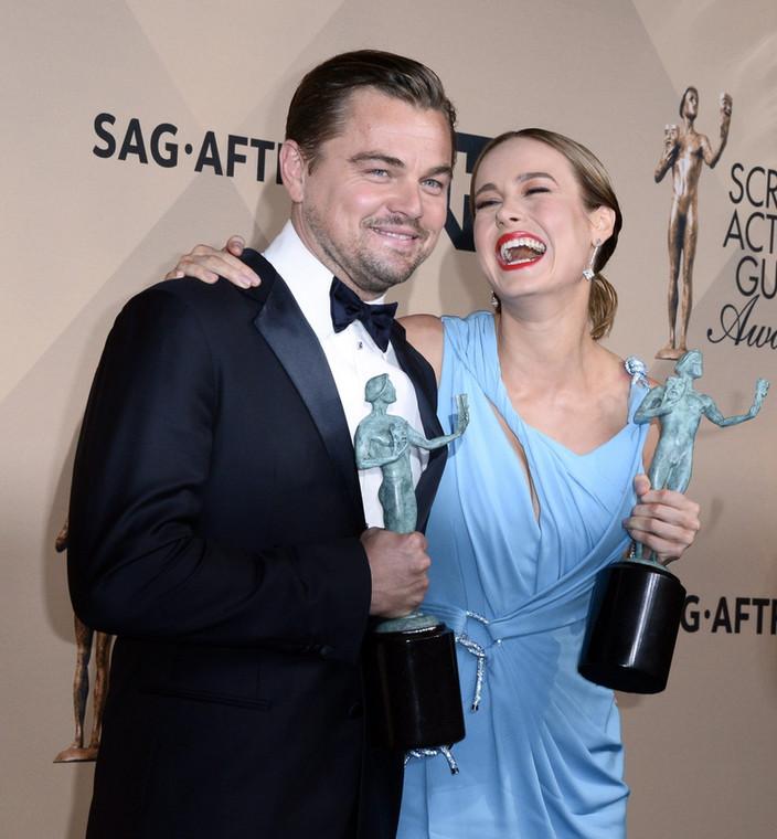 Leonardo DiCaprio i Brie Larson – zdobywcy Screen Actors Guild Awards 2016