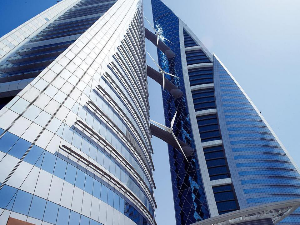 8. Bahrain World Trade Center, Manama, Bahrain