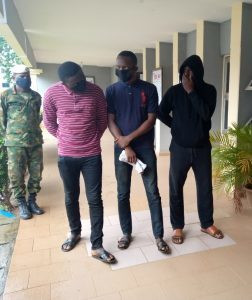The three suspects were all former classmates of the deceased [NAN]