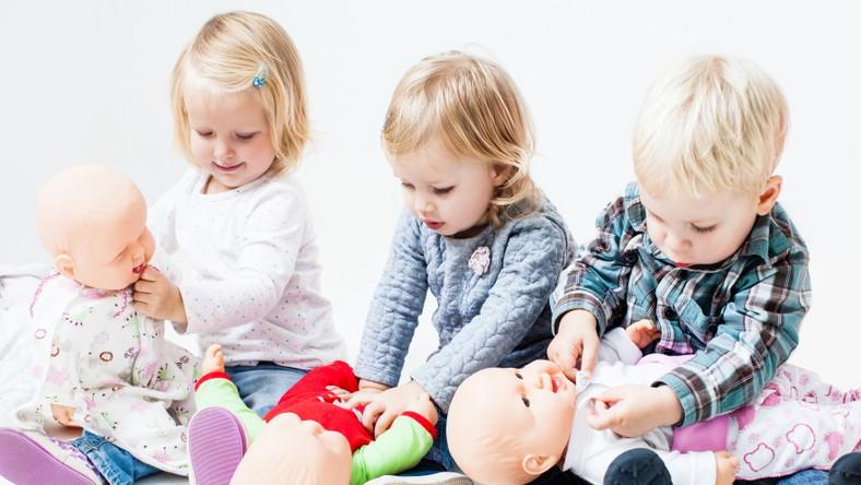 Zabawa lalkami