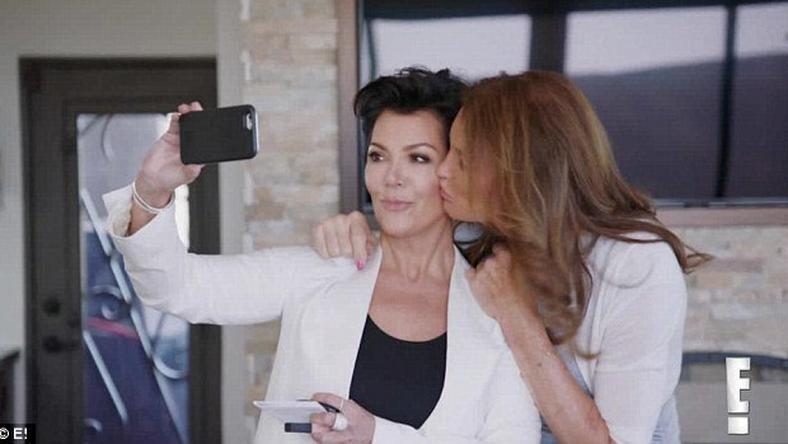 Reality stars, Kris Jenner and ex, Caitlyn jenner