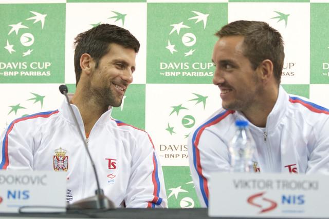 Novak Đoković, Viktor Troicki