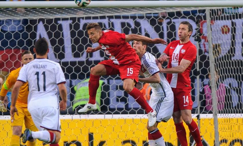 Thiago Cionek Niemcy Polska mecz towarzyski Hamburg