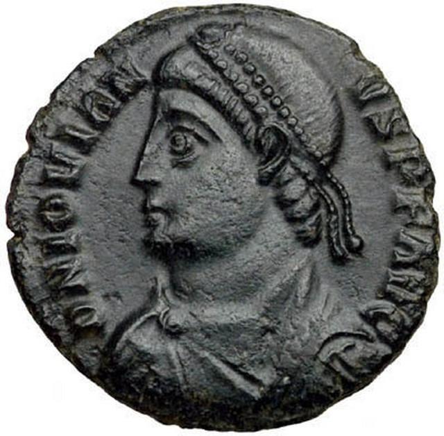 Jovijan - novčić iz njegovog vremena