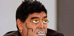 Maradona zrobił sobie usta! MEMY