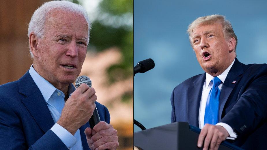 Nadchodzi kluczowy moment kampanii. Joe Biden i Donald Trump zmierzą się ze sobą w telewizyjnej debacie prezydenckiej