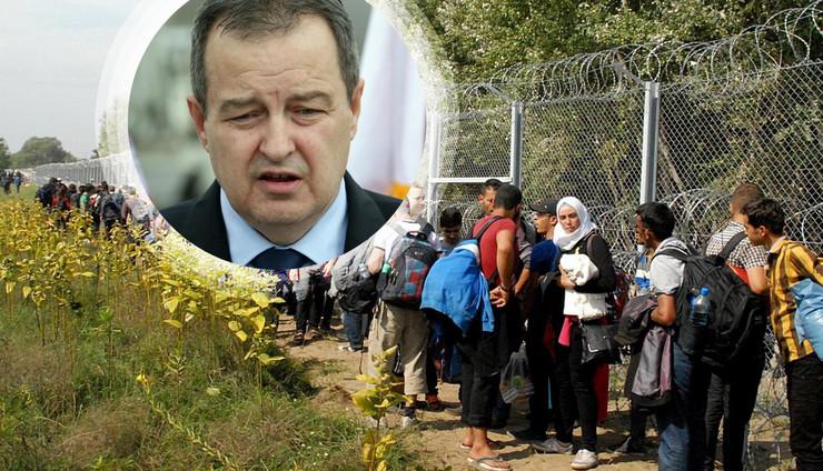 dacic migranti kombo RAS Tanjug Sava Radovanovic, Biljana Vuckovic
