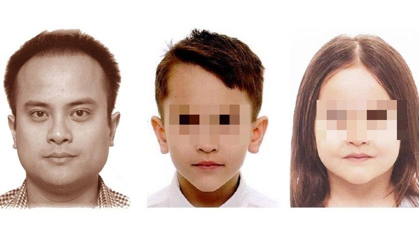Policja  odnalazła zaginione dzieci, wciąż poszukuje ich ojca