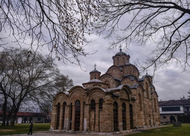 Gracanica, a short drive south of the capital, is home to one of Kosovo's main Orthodox monasteries
