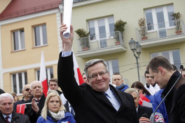 Bronisław Komorowski w Białymstoku