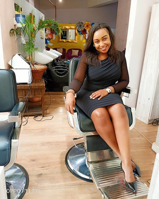 Betty Kyallo at Flair by Betty (Instagram)