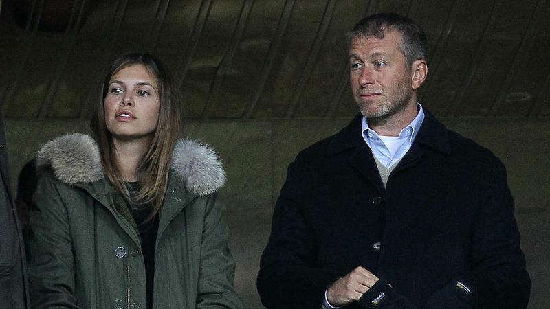 Roman Abramowicz i Dasza Żukowa