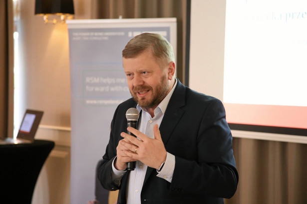 Prezydent Konfederacji Lewiatan Maciej Witucki