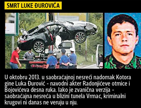 Saobraćajna nesreća u kojoj je stradao Luka Đurović dogodila se pod neobičnim okolnostima