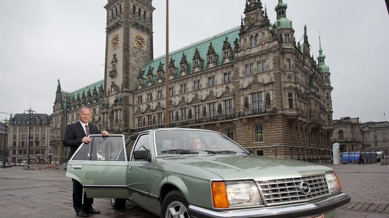 Opel Senator: limuzyna dla prezesa