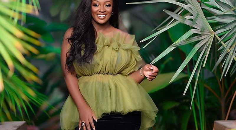 Jackie Appiah's Garden of Eden themed photos are a must-see