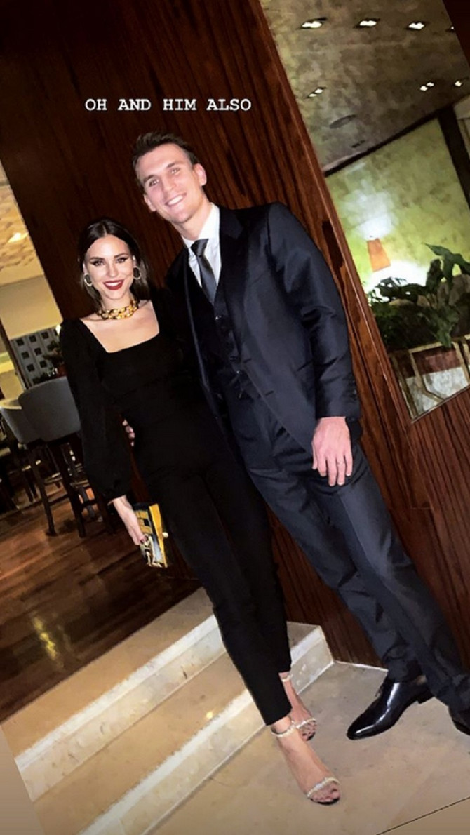 Anja sa suprugom