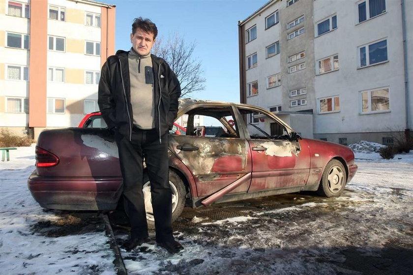 Koledzy spalili mi taksówkę, bo...