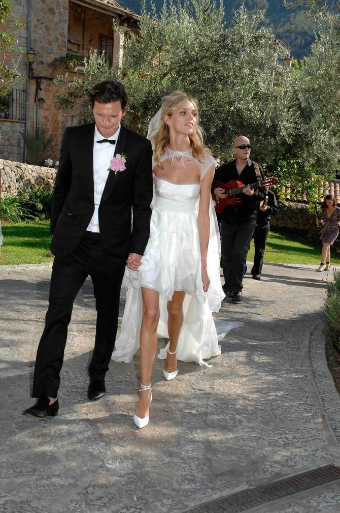 Poznati par na venčanju