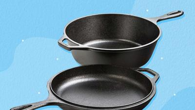 There's no reason to spend hundreds of dollars on cast iron cookware