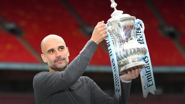 Relentless: Pep Guardiola has won 27 trophies in charge of Manchester City, Bayern Munich and Barcelona