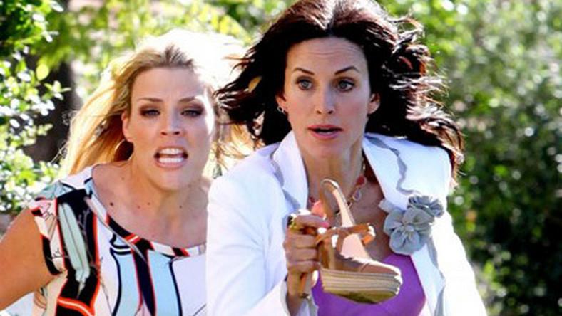 Lisa Kudrow i Courtney Cox razem na planie