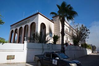Atak na siedzibę MSZ w Libii. Napastnicy wysadzili się w powietrze
