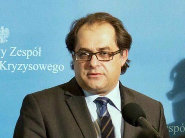 Minister Marek Gróbarczyk - KPRM