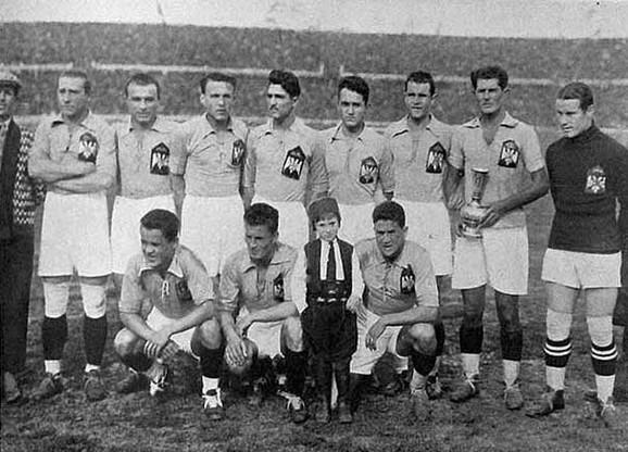 Reprezentacija Jugoslavije koja je nastupila na Svetskom prvenstvu 1930. godine u Urugvaju
